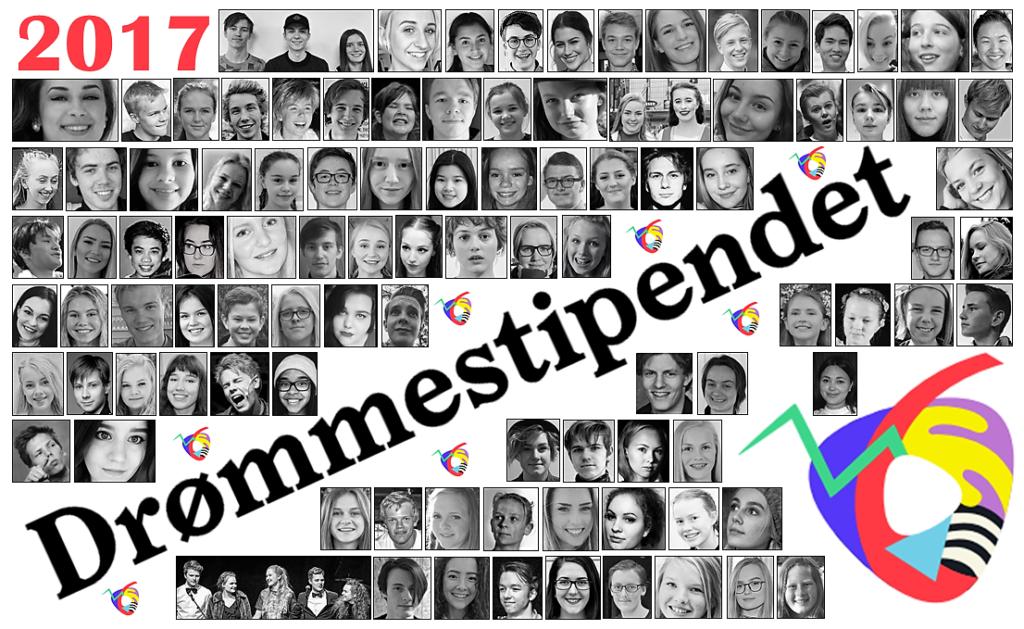 Her er de: Alle 100 drømmestipendmottakerne i 2017