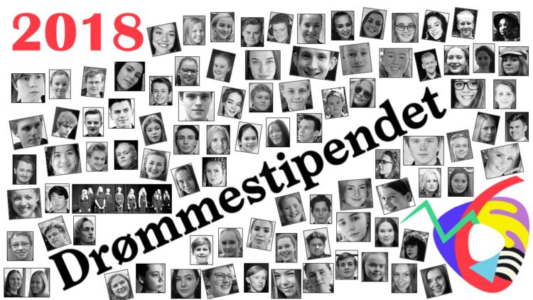 Her er alle de 100 drømmestipendmottakerne i 2018
