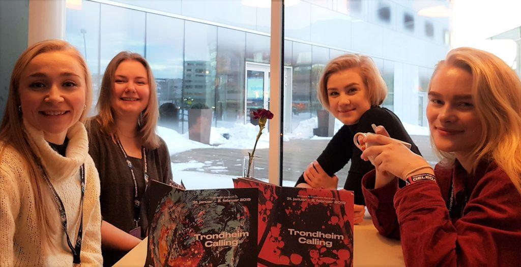 Drømmestipendambassadører på Trondheim Calling