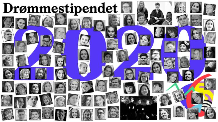 Her er samtlige mottakere av Drømmestipendet 2020