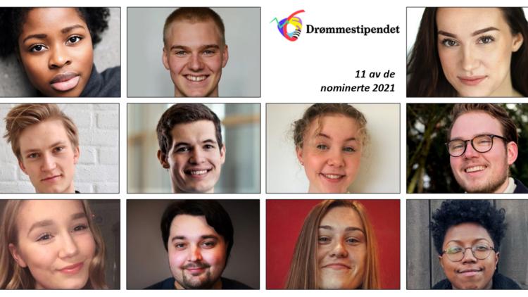 Drømmestipendet 2021: 660 nominerte presenteres