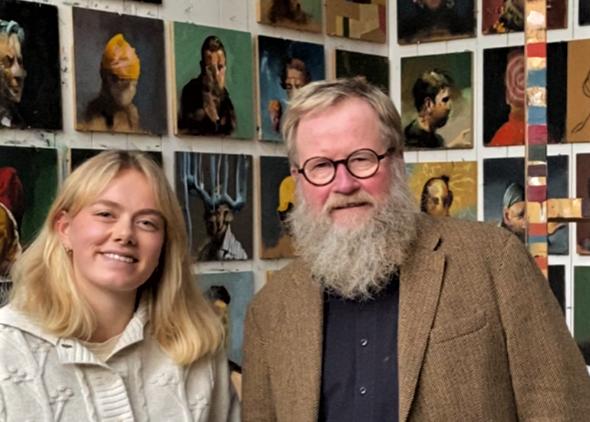 Drømmeopplevelse: Lea fikk møte Håkon Gullvåg